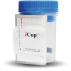 iCup 10 Panel Drug Testing Kit with Adulteration Strips