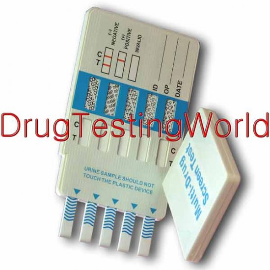 10 Panel Drug Test Kit with BUP - Click Image to Close