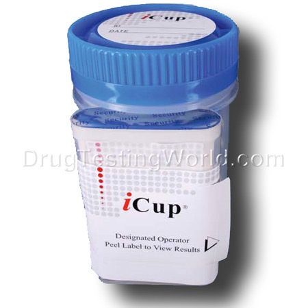 iCup 10 Drugs Integrated Urine Drug Screen - Click Image to Close